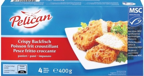 Poisson frit croustillant - Product