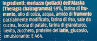Poisson frit croustillant - Nutrition facts - fr