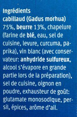 Filets Gourmet à la Provençale - Ingrediënten - fr