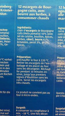 Escargots à la bourguignonne - 3