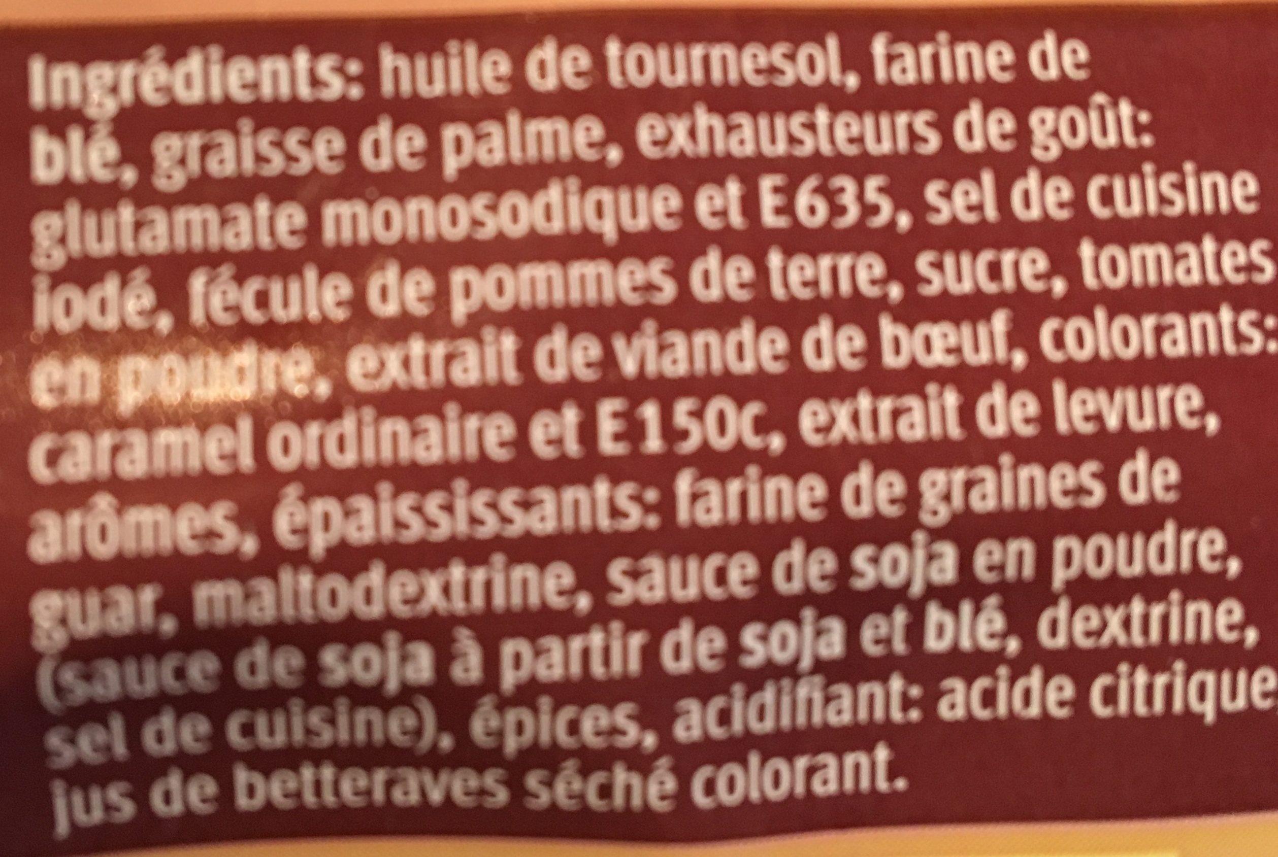 Bratensauce - Sauce pour rôti - Ingredients - fr