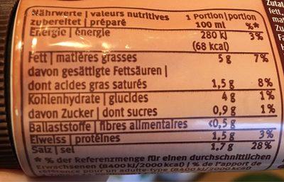 Bratensauce - Sauce pour rôti - Nutrition facts - fr