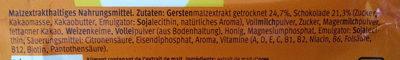 Eimalzin Malzwürfel - Ingredients - de