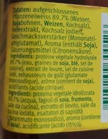 Condiment - Ingrediënten - fr