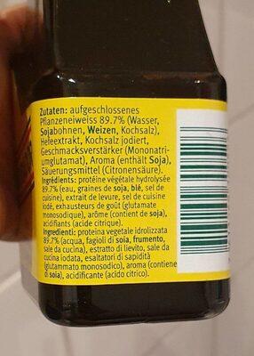 Condiment - Voedingswaarden - fr