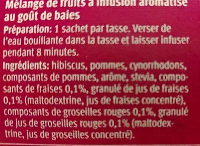 Fantastic Berries - Ingredients