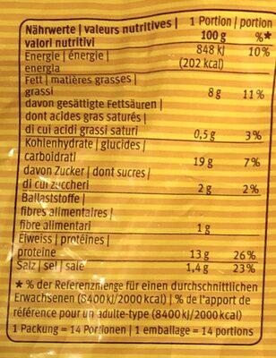 Chicken Crispy - Valori nutrizionali - it