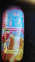 Ice Tea Berry & Rhubarb - Product - fr