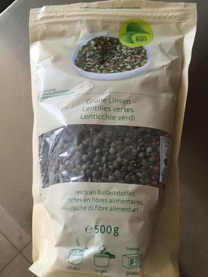 Lentilles vertes - Product