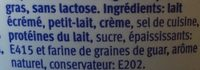 Cottage Cheese nature - Ingredients - fr