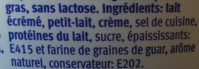 Cottage Cheese nature - Ingredients