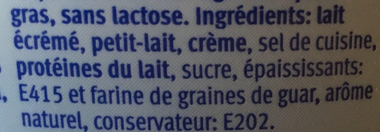 Cottage Cheese nature - Ingredienti - fr