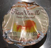 Flan vanille sauce caramel - Product - fr