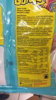 Poissons Acidulés - Nutrition facts