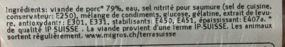 Toast garniture - Prodotto - fr