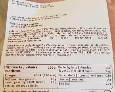 Toast garniture jambon - Prodotto - fr