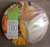 Hummus Trio curry, olive, pomodori - Prodotto