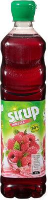 Sirop de framboise avec 30% de jus de fruit, pasteurisé - Product - fr