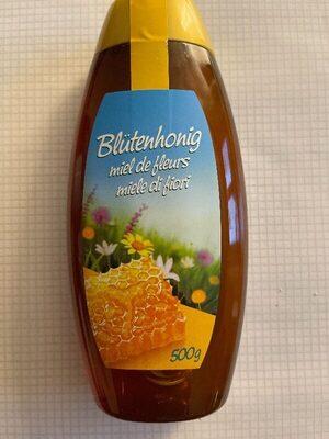 Honig: Blütenhonig in Flasche - Produkt - fr