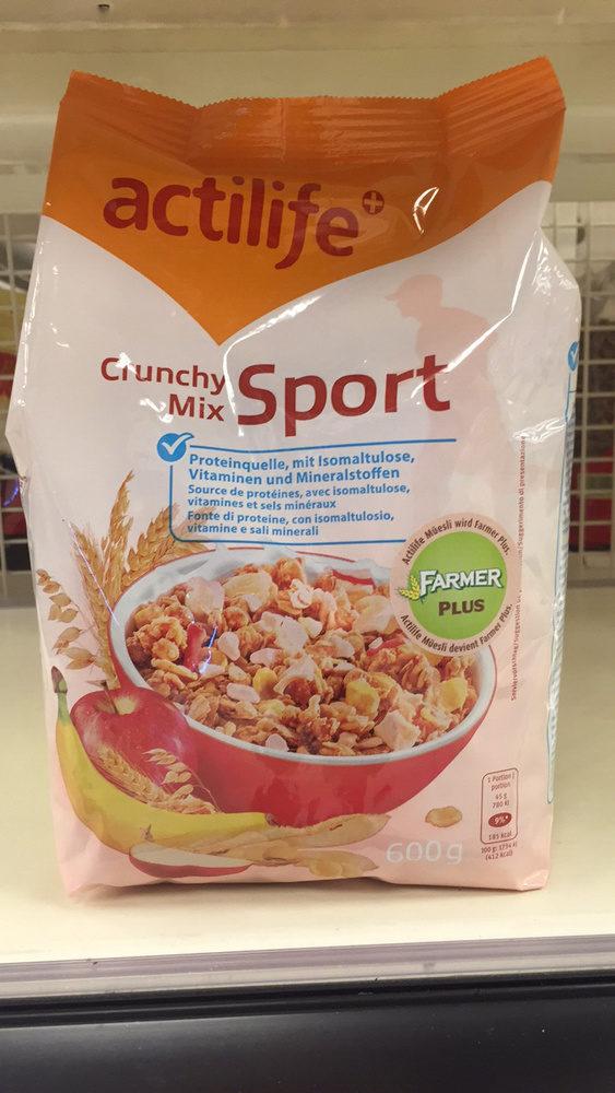 Crunchy Mix Sport - Product
