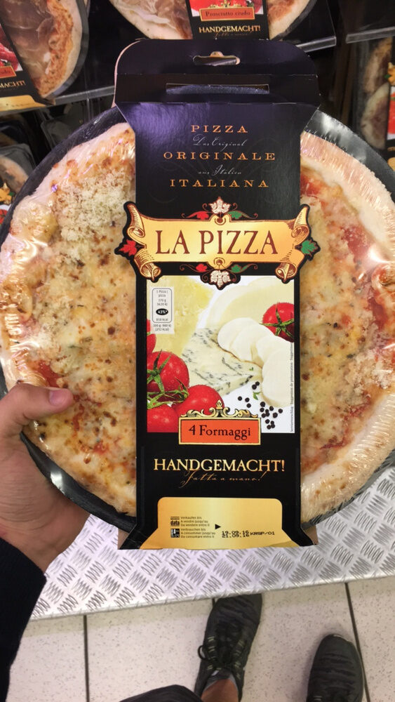 Pizza 4 formaggi - Product - fr