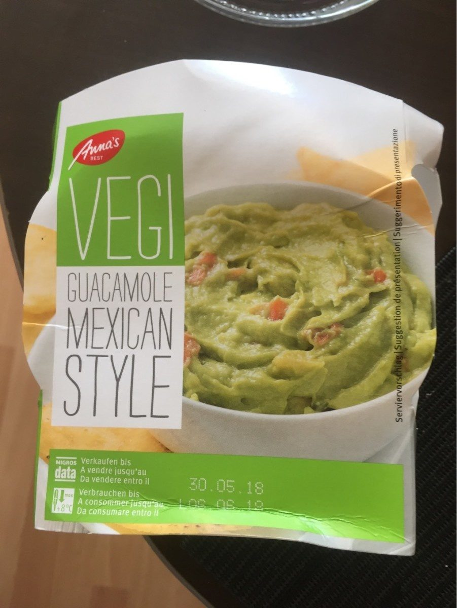 Guacamole Mexican Style - Product - fr