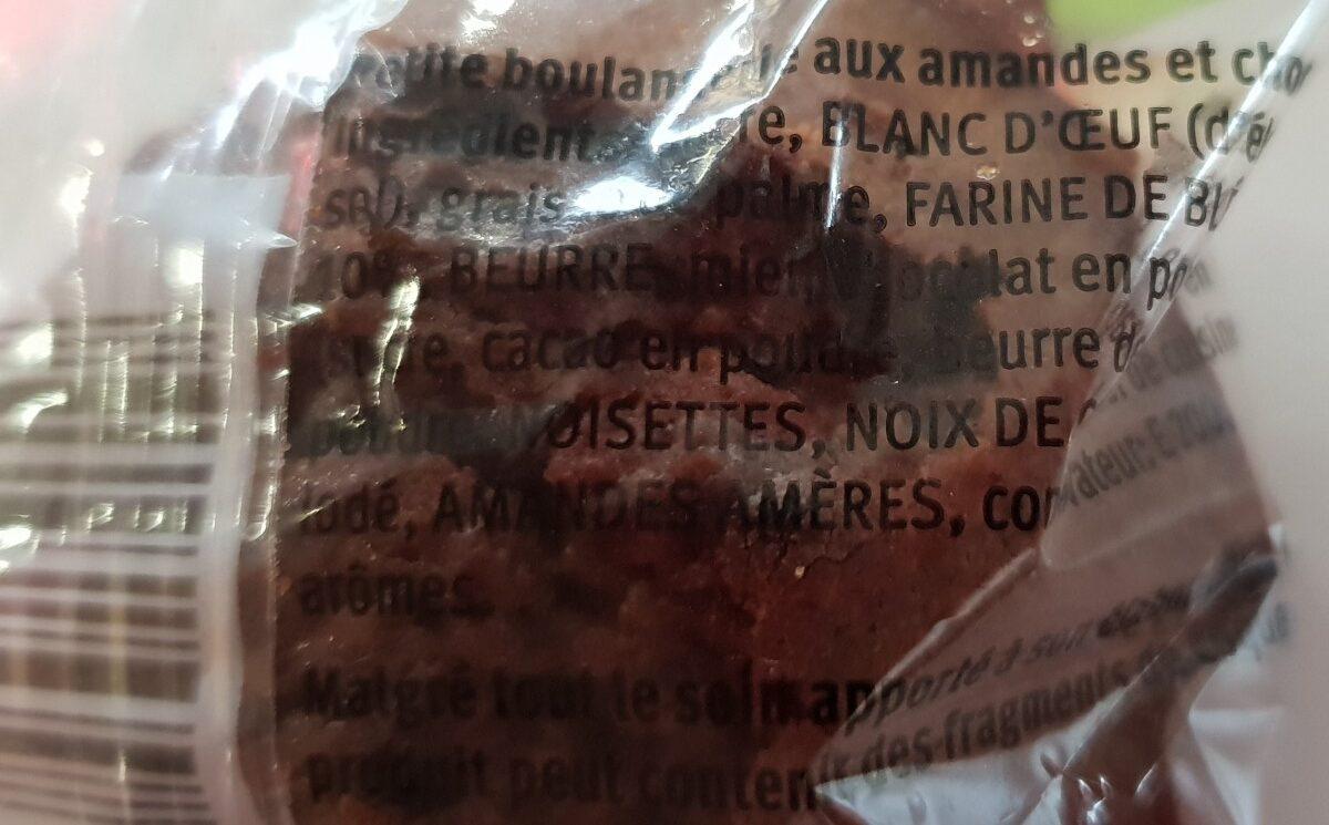 Mandoline choc - Ingrédients - fr