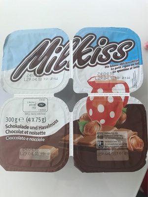 Milkiss Chocolat Noisette - Produit - fr