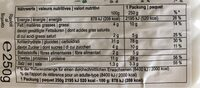 Raioli - Informations nutritionnelles - fr
