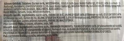 Löffel Biscuits 140G - Ingrédients - fr