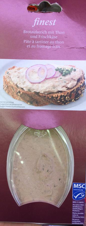 Pâte à tartiner au thon et au fromage frais - Product