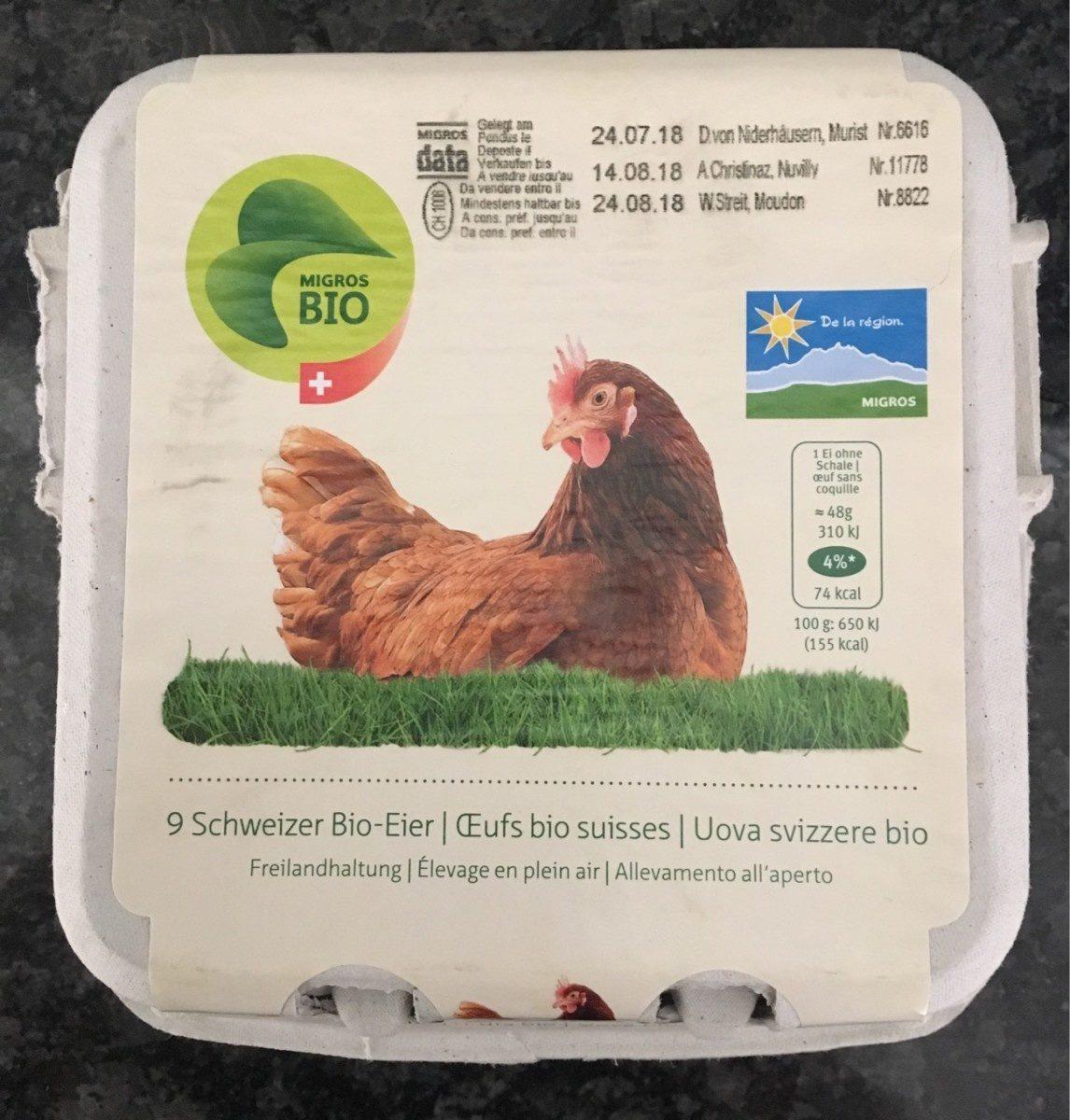 Oeufs bio suisses - Product - fr