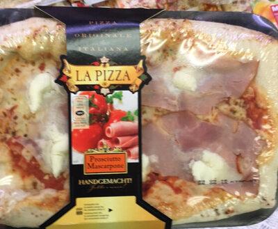 La Pizza al prosciutto cotto e mascarpone - Prodotto - fr