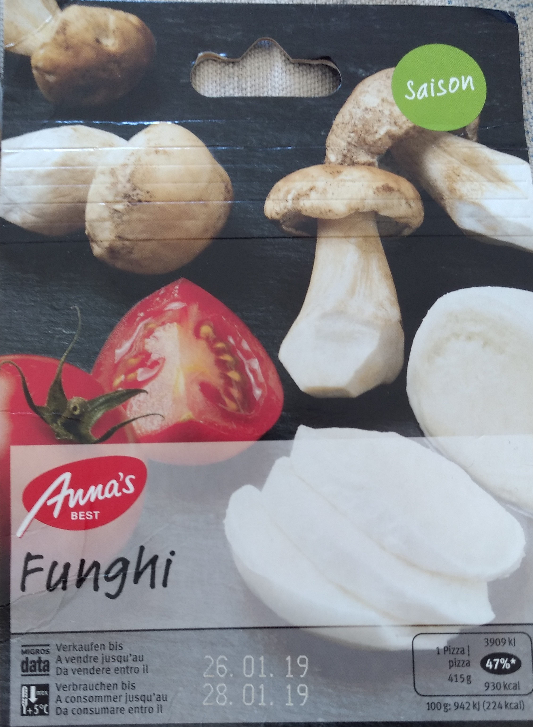 Pizza funghi - Product