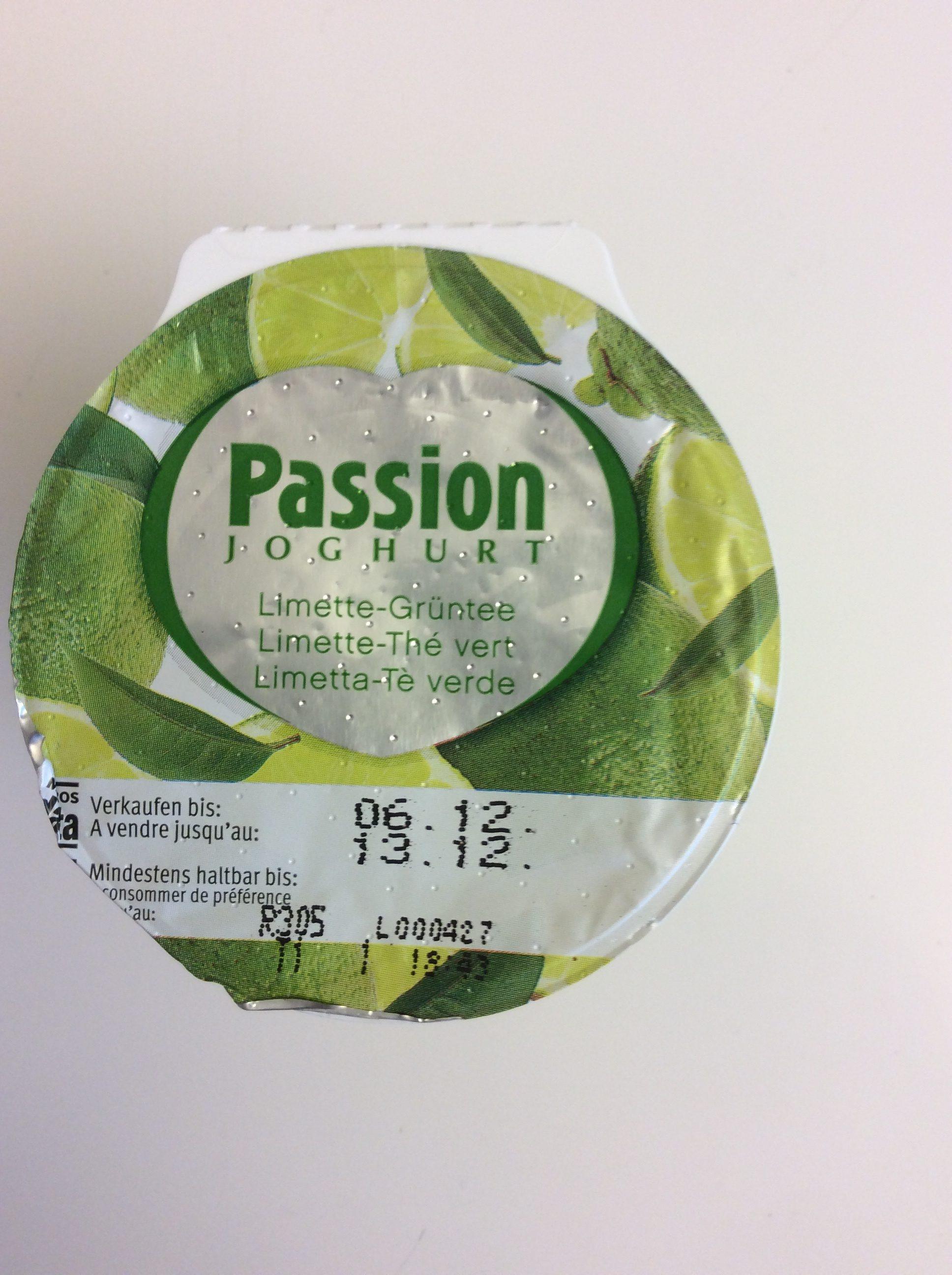 Passion Joghurt Limette-Thé vert - Product - fr