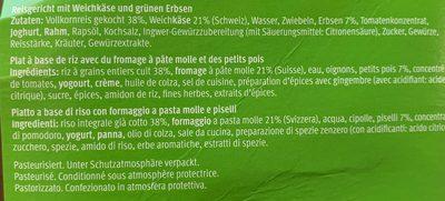 Vegi Indian paneer - Ingredients - fr