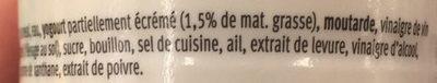 Sauce Française - Ingrédients