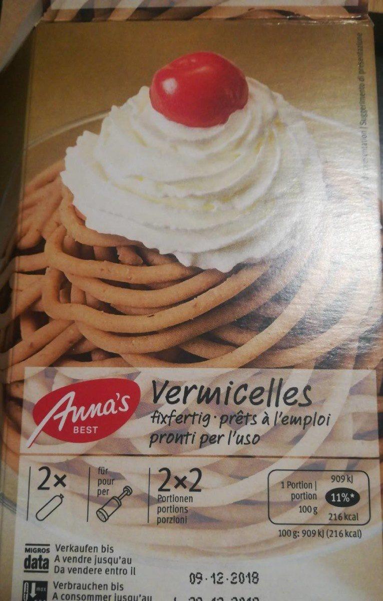Vermicelles prêts à l'emploi - Product - fr