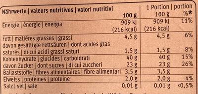 Vermicelles prêts à l'emploi - Ingrediënten - fr