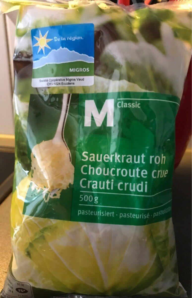 Sauerkraut roh   Choucroute crue   Crauti crudi - Product