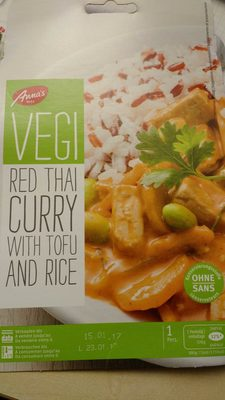 Red Thai Curry Tofu - Product