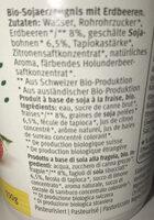 SOJA Soyog Fraise - Ingredients