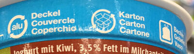 Joghurt Kiwi - Recycling instructions and/or packaging information - fr