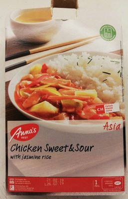 Annas Best Chicken Sweet & Sour - Product - fr