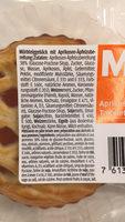 Tartelettes à l'abricot - Ingredienti - fr