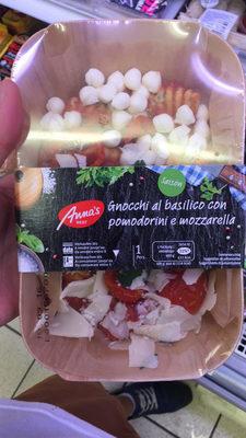 Gnocchi alors basilic con pomodorini e mozzarella - Produit - fr