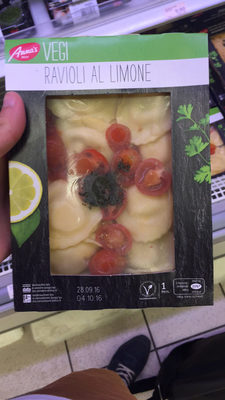 Ravioli al limone (au citron) - Produit - fr