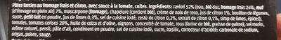 Ravioli al limone (au citron) - Ingrédients - fr