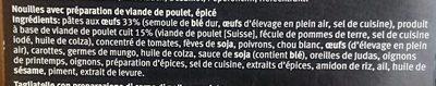 Bami Goreng au Poulet - Ingredients