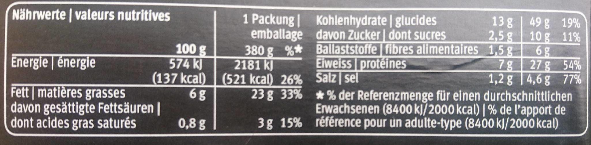 Bami Goreng au Poulet - Nutrition facts